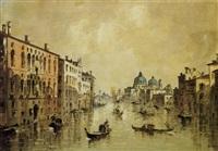 venezia, canal grande by giovanni riva