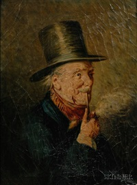 a quiet smoke by william thomas smedley