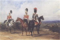12th lancers and royal horse guards by henry martens