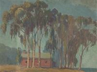 schoolhouse, morro bay by kathryn woodman leighton