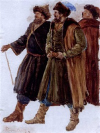 ivan the terrible (study) by pavel petrovich sokolov-skalua