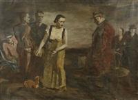 les saltimbanques by pierre prince de wolkonsky