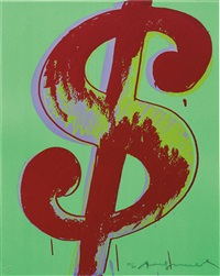 dollar by andy warhol