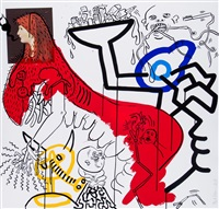 untitled (from apocalypse) by keith haring
