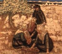 la cueillette de pommes à plougastel daoulas by georges rasetti