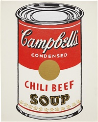 campbell's chili beef soup by mike bidlo