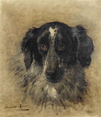 an english setter by henriette ronner-knip