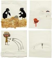 untitled (4 works) by jon pylypchuk