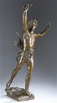 male figure by eugène marioton