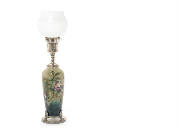 Fuchsia table lamp by walter moorcroft on artnet fuchsia table lamp by walter moorcroft aloadofball Choice Image