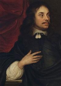 dreiviertelportrait eines adeligen by ferdinand bol
