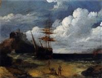 coming ashore by gustav adolph henning