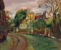 la route de gairaut by robert bouchet