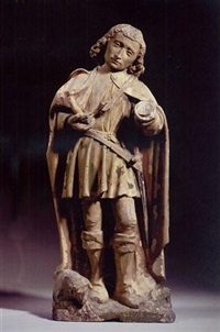 saint hubert by pierre antoine le moiturier