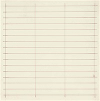 untitled (#21) by agnes martin