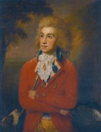 portrait of robert holmes (1765-1859) by rev. matthew william peters