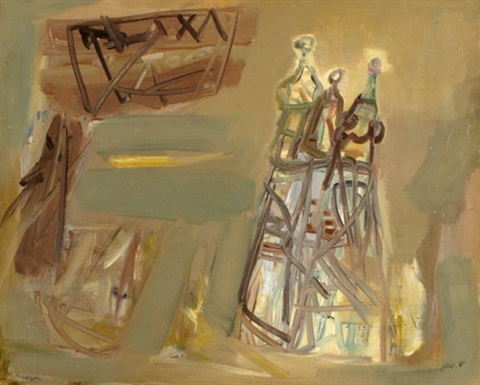 figures in the negev by shmuel raayoni