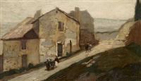 paysage provençal by joseph marius hurard