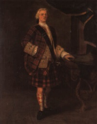 portrait of lord george murray by john alexander