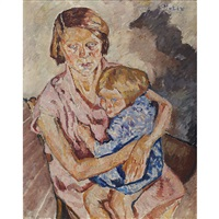 mother and child by maria-mela muter