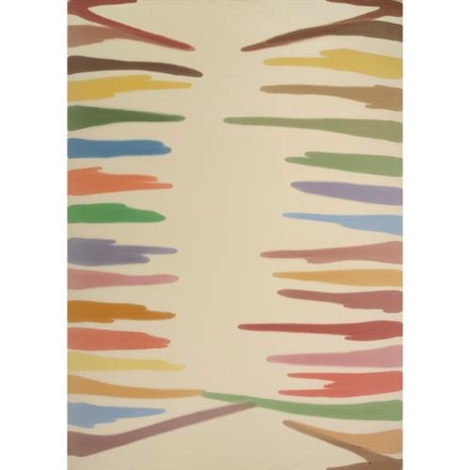 omega i by morris louis