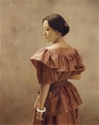 portrait of a woman by sosuke morimoto