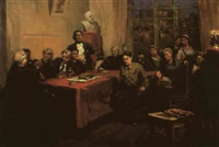 the party trial, la reunion by adolf m. konstantinopolski