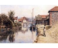 riverside, norwich by john joseph cotman