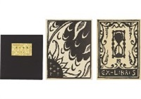 tenshin no sho (hommage a la metamorphose, poesies de konosuke hinatsu) (book w/ 10 woodcuts) by hasegawa kiyoshi