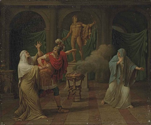 alexander the great and the oracle of delphi by pierre nicolas legrand de lérant