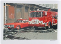 fire engine (fdny) by ron kleemann