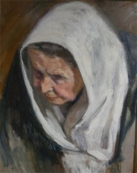 portrait au châle by abel pineau