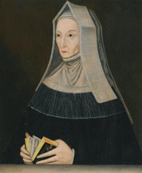 portrait of lady margaret beaufort, countess of richmond and derby(1443-1509) by maynard waynwyk