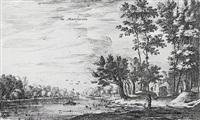 in maerseveen, pl. 7 (from zweite folge von 8 blatt holländische ansichten) by roelant roghman