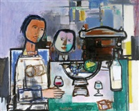 around the table by georges goldkorn