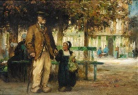 youth and age; a stroll with grandpa by flora macdonald reid