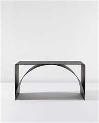 arch-plate table by scott burton