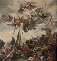 the resurrection of the dead by claudio francesco beaumont