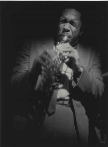 coltrane on soprano by roy decarava