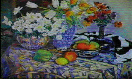 trois bouquets by dimitri yakovlev