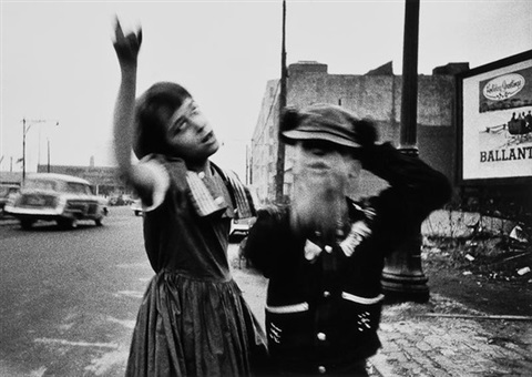 dance in brooklyn new york by william klein