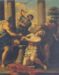 the flagellation of christ by pietro locatelli