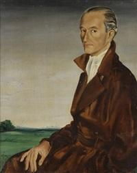 portrait de philippe d'estailleur-chanteraine by rené gruau