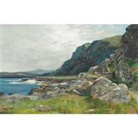 a rocky coast by hugh allan