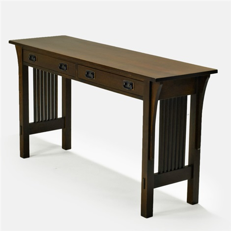 Spindleside console table by Stickley Audi and Co on artnet