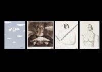 la naissance des nuages (book w/28 works) by toshio arimoto