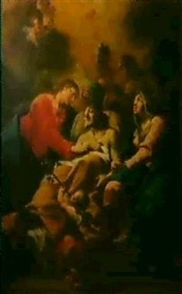 der tod des heiligen josef by bartholomäus altomonte