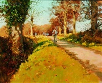 a happy stroll at st. paul's walden by john haskins
