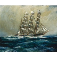 "the clipper ship ""ross-shire"" by jack spurling"