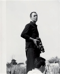 l'avventura--michelangelo antonioni sur le tournage de son film by patrick morin